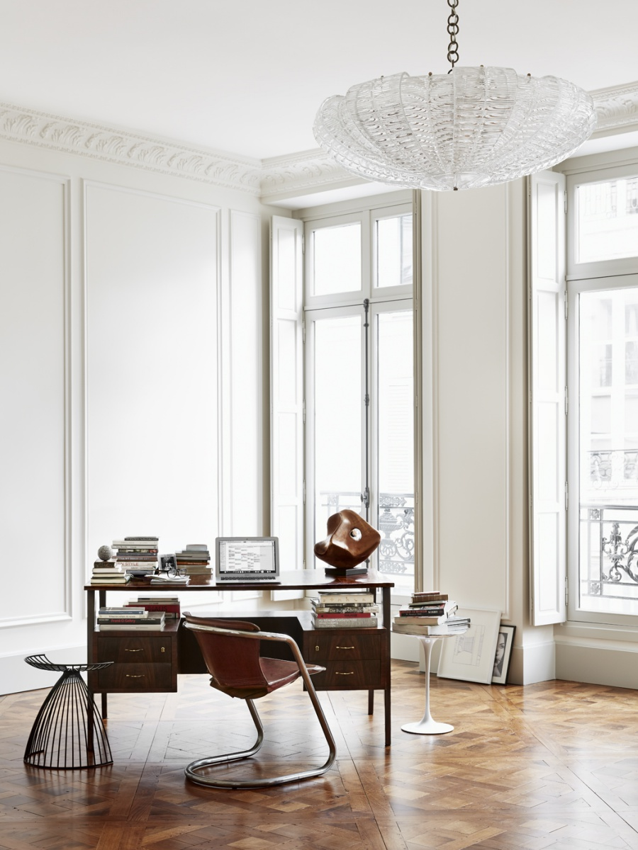 Luxurious Parisian Apartment Design Inspiration