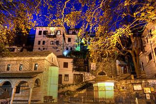 Makrinitsa By Night
