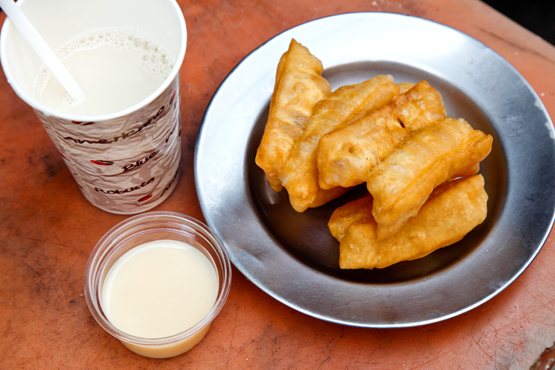 Go Neng Chinese Cruller Soya Bean Breakfast