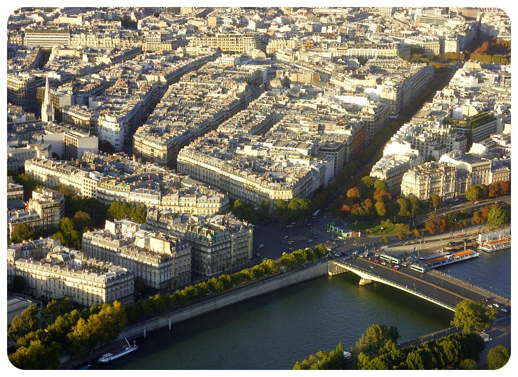 paris from eiffeltower