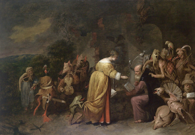 David Ryckaert The Younger - The Temptation of Saint Anthony, 1649