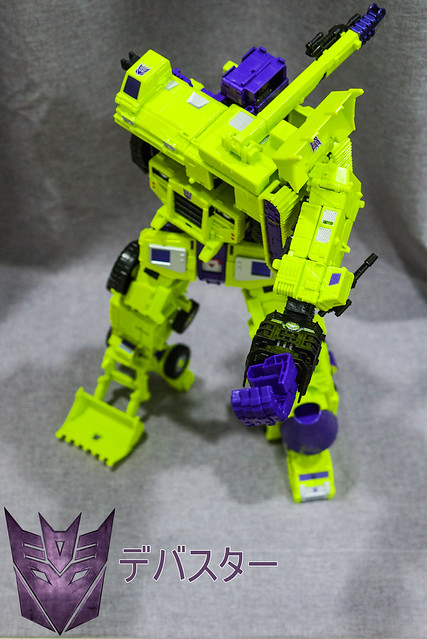 Devastator Transforms