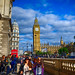 Parliament Square in London, England by ` Toshio '
