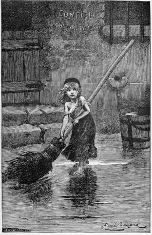 Cosette by Émile Bayard