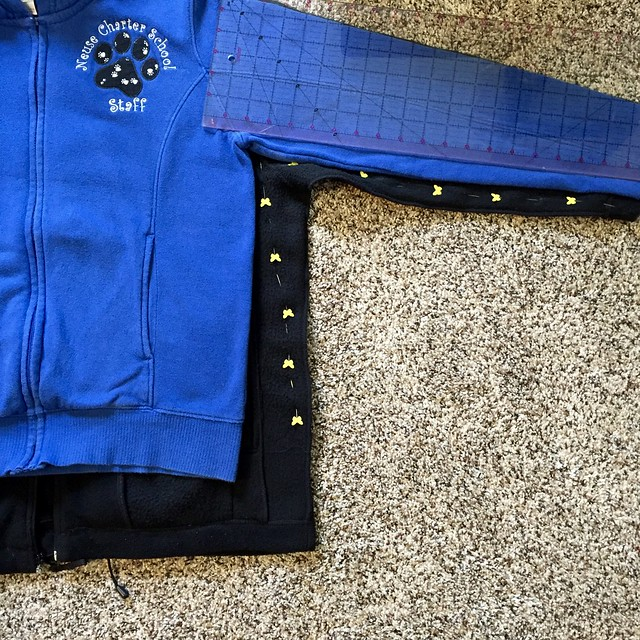 Fleece jacket fix4