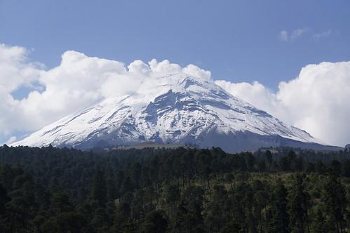 Popocatépetl (parque nacional Iztaccíhuatl- Popocatépetl)
