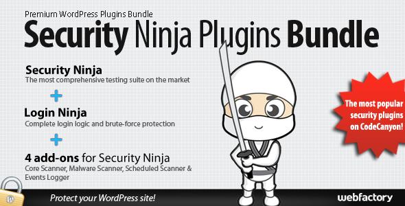 Codecanyon Security Ninja Plugins Bundle