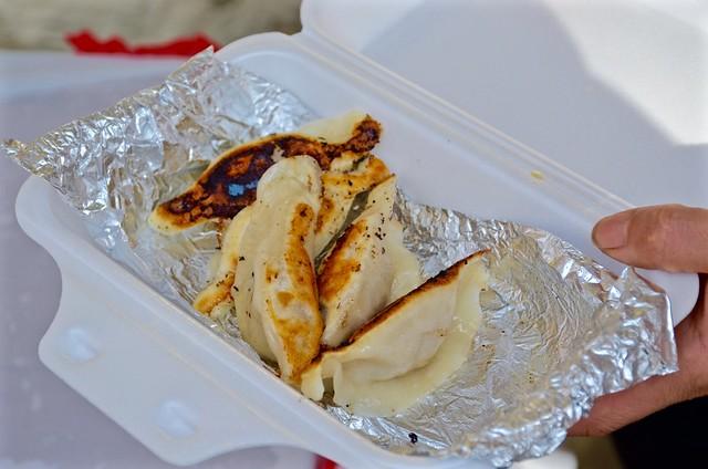 asian american shandong pan fried pork dumplings