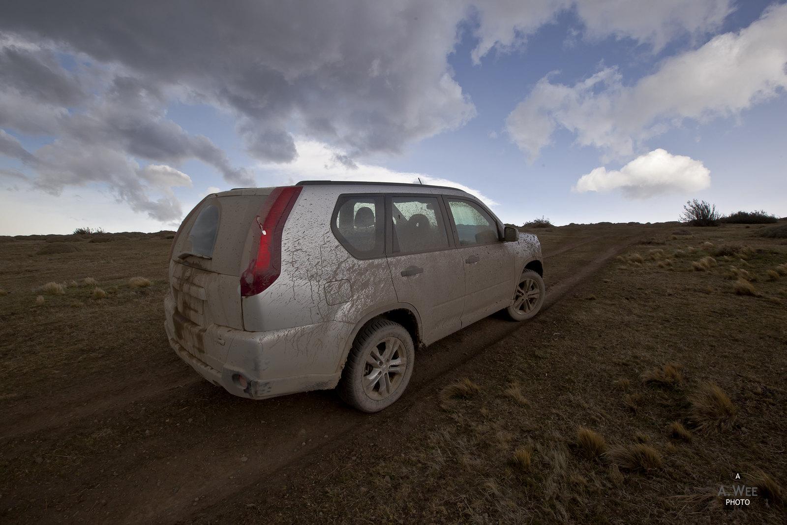 Muddy X-Trail