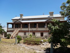 Robe. Karratta House built 1863 as summer residence for Henry Binnum of Binnum run near Bordertown. Used by Governor Fergusson as the Governors Summer Residence 1868 to 1873.