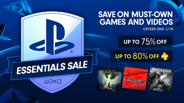 PlayStation Essentials Sale