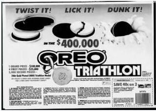 Oreo Triathalon ad