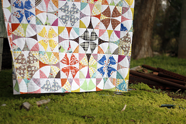 Jump Rope quilt top