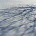 snow in waves with shadows by BryanAlexander