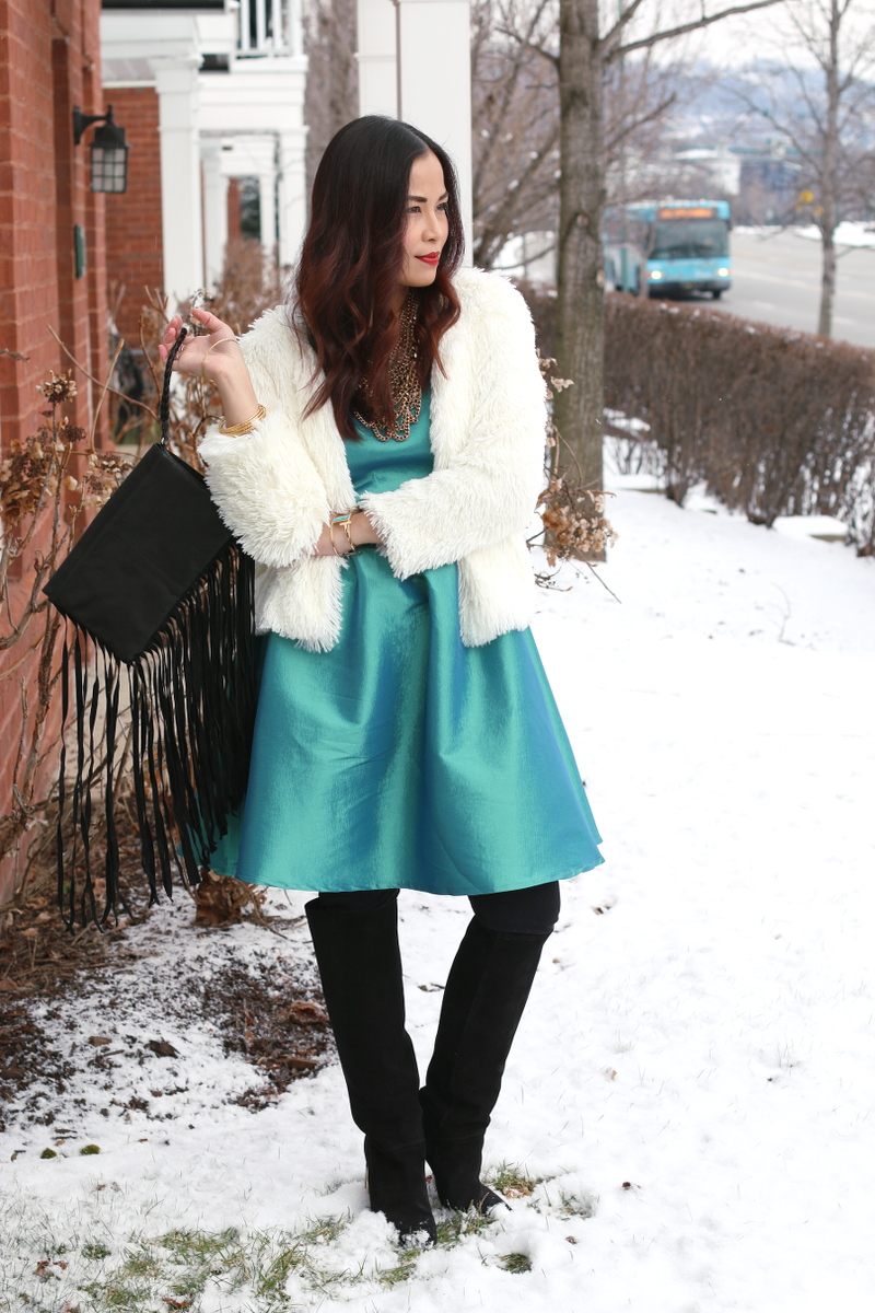 Shabby Apple green dress, outfit