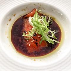 Salmon Teriyaki Sashimi