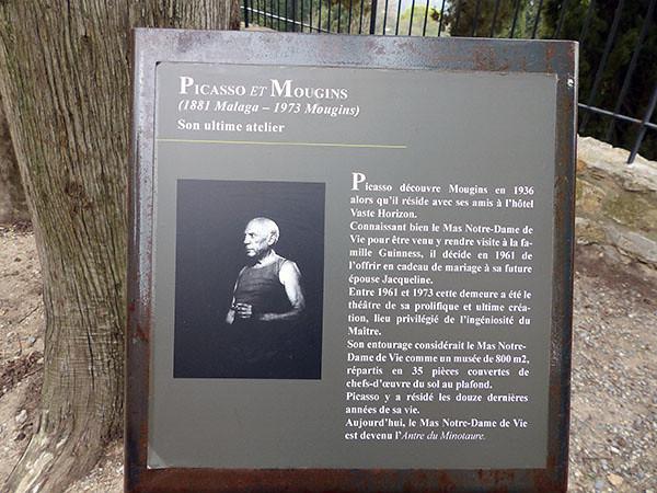 Picasso et Mougins