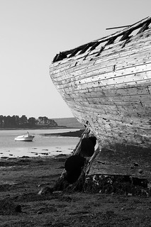 Wrack, Crozon - Bretagne   PICT0056-bw
