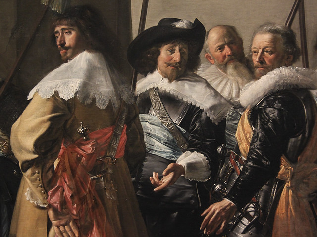 "Militia Company of District XI under the Command of Captain Reynier Reael, Known as ""The Meagre Company"", Frans Hals and Pieter Codde, 1637"