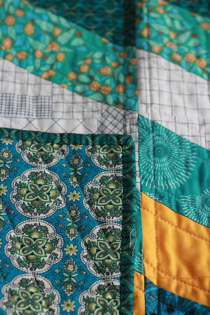 a quilt for L. from Bonjour Quilts