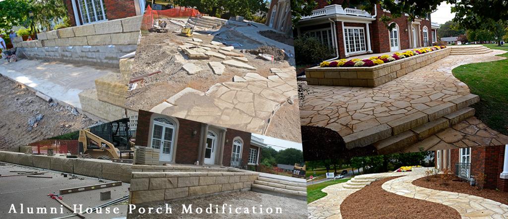 Alumni House collage Banner