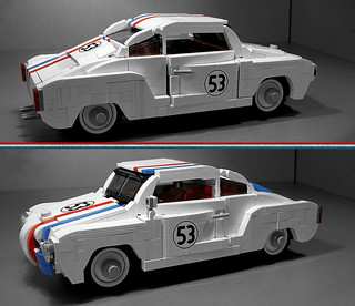 Herbie as KarmannGhia