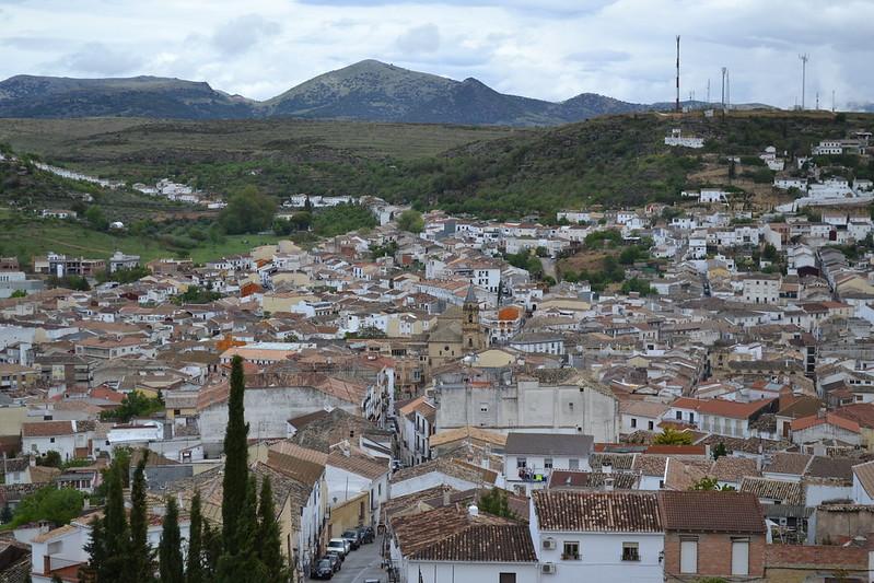 Vista de Alcalá desde la fortaleza