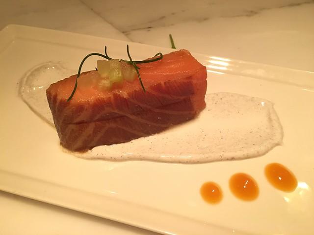 House-smoked salmon - 1601 Bar & Kitchen