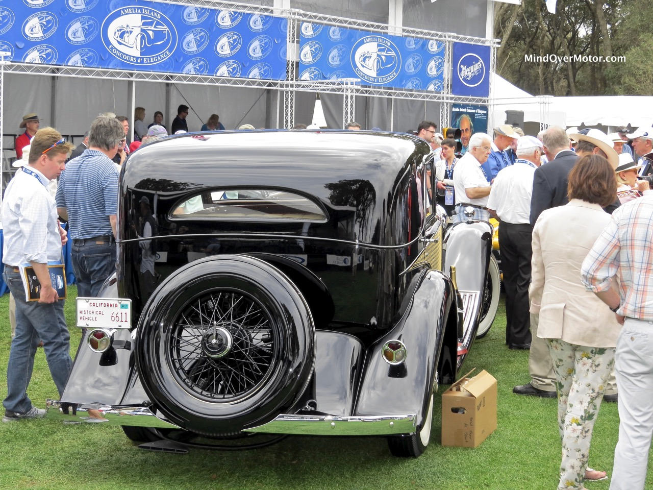 1930 Rolls-Royce Phantom II Rear 2