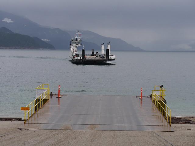 Upper Arrow Lake Ferry