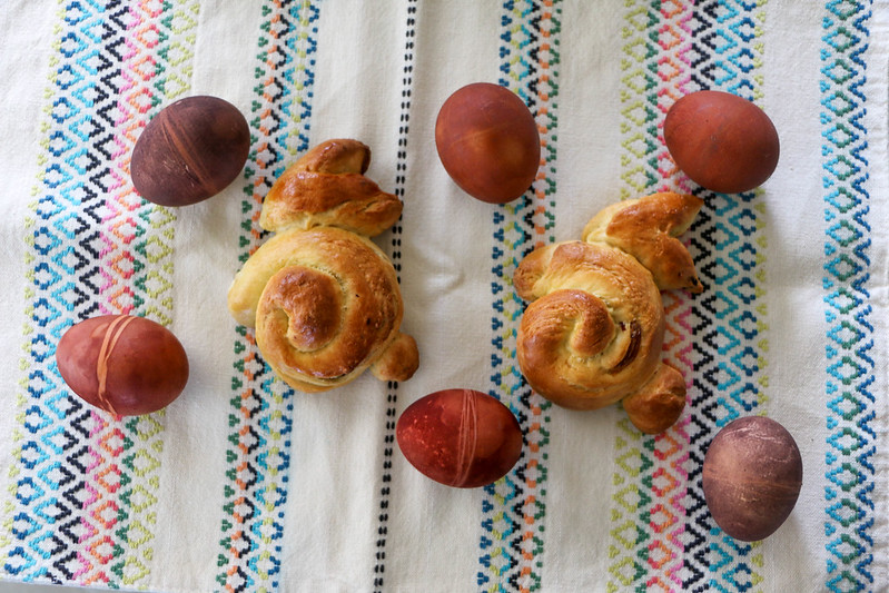 03.27. Easter Bread and Eggs