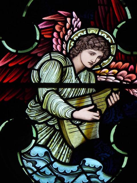 Burne-Jones windows in Speldhurst church