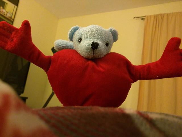 Huggy(heart) Bear.