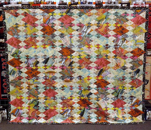 AMH Diamonds Quilt Top