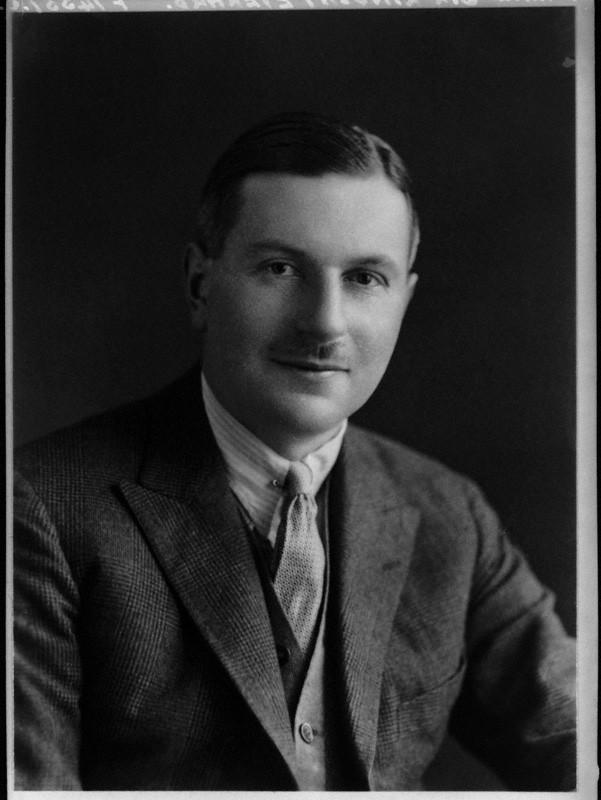 NPG x100364; Sir (William) Lindsay Everard