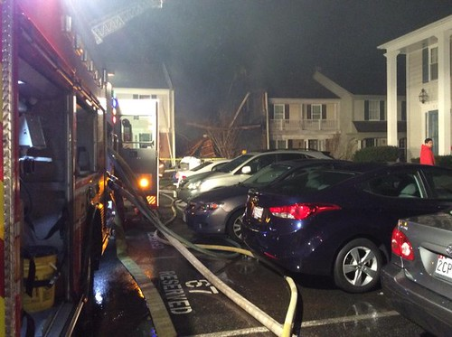 Germantown Townhouse Fire Injures Eight Firefighters