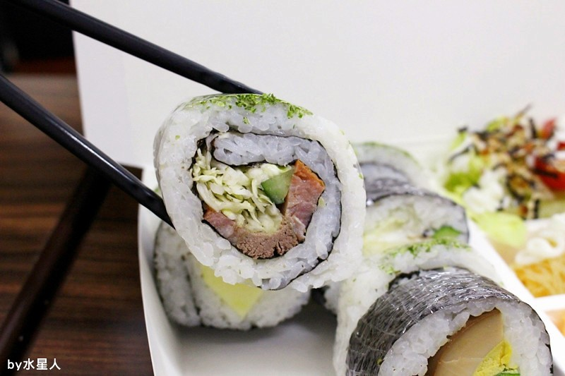 25815005730 be1182d83f b - 台中西屯【御狩屋平價壽司】好特別的滷味花壽司、還有櫻桃鴨花壽司,清爽健康路線