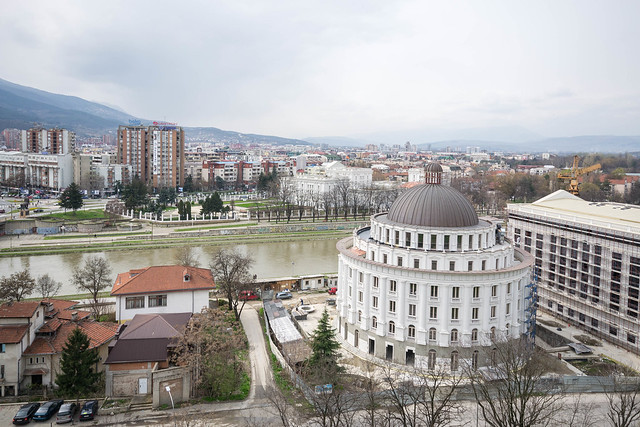 View of Skopje from the fortress