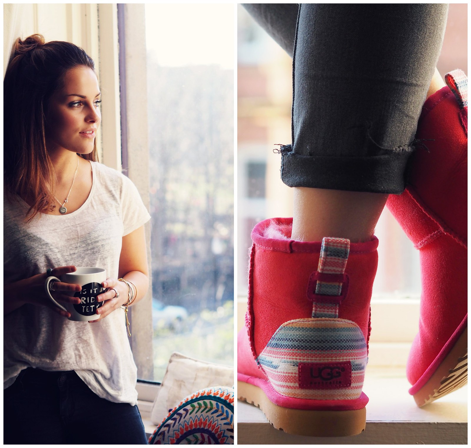 The Little Magpie UGG boots colourful classics collection