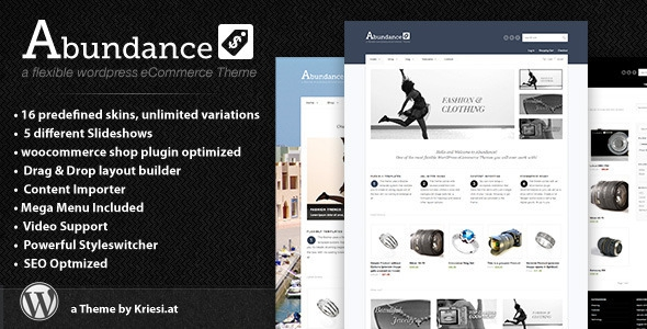 Abundance v4.3 – eCommerce Business Theme