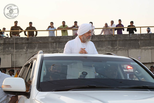 Arrival of His Holiness in Satsang Ground