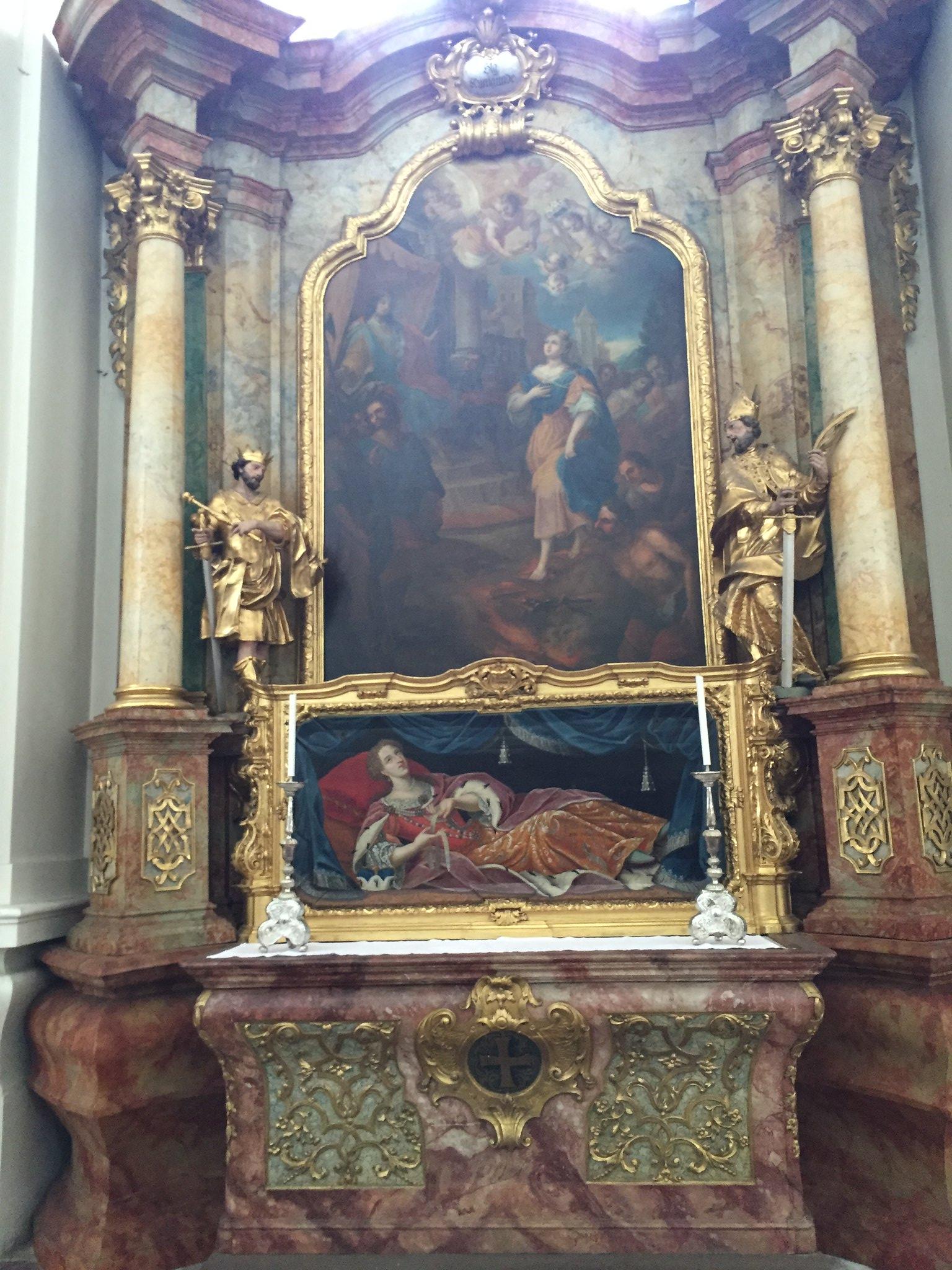 Selige Alrun von Cham, Abtei Niederaltaich