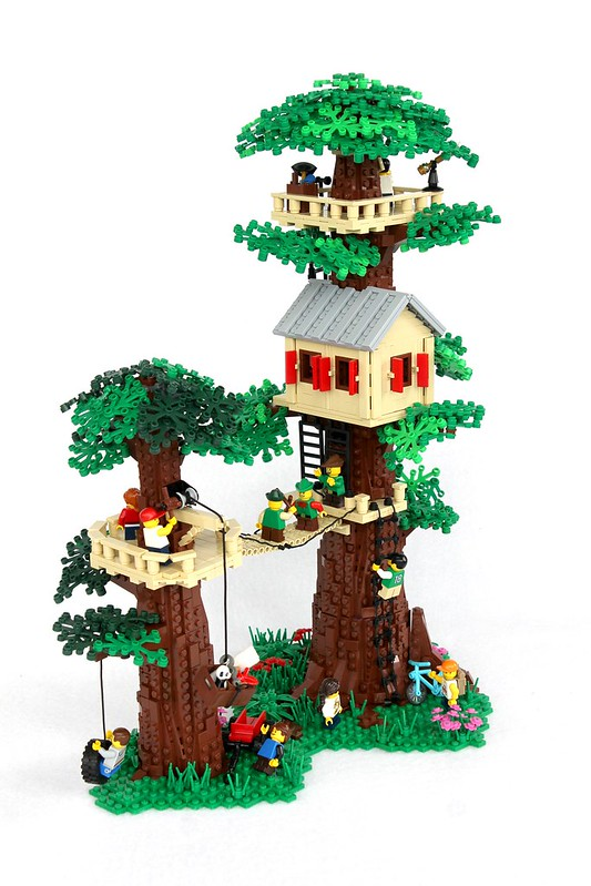 Not Just A Tree House But A Lego Tree Fort The Brothers