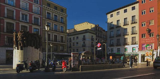Plaza Antón Martín, Calle Atocha, Madrid (2016)