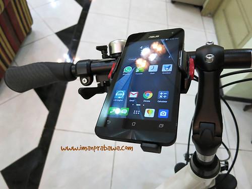 Minoura iH-220-M terpasang di sepeda