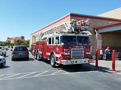 San Antonio Fire truck