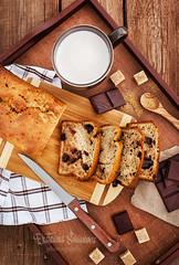 Delicious fresh homemade banana bread
