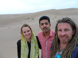 Alex our tour guie. The Maranjabi Desert