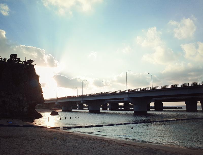 沖繩海灘景點波之上海灘