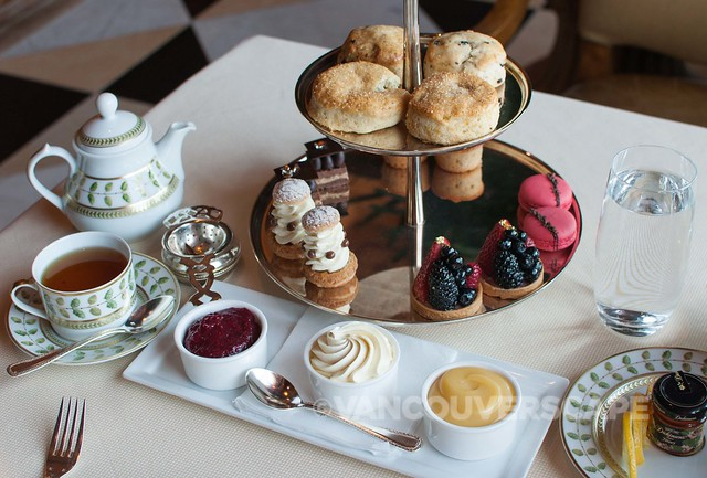 Fairmont Grand Del Mar Afternoon tea
